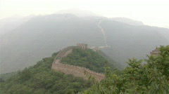 greatWall of china - stock footage