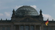 Stock Video Footage of HD1080p Reichstag building in Berlin