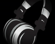 Glitched Headphone Stock Footage