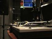 Stock Video Footage of DJ Mixing Vinyl
