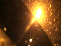 Light through Dirty Glass - stock footage