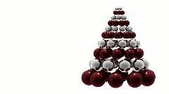 Christmas tree - stock footage