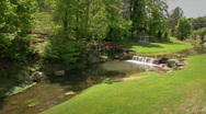 Stream in Grassy Valley Stock Footage