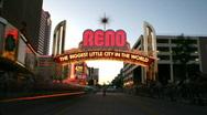 Reno Hot Rod Cruise timelapse HD 04 Stock Footage