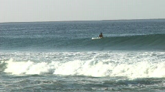 Surf to the right Stock Footage