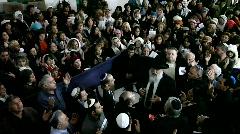 Praying with Rabbi Mamo Shalita - Tomb Stock Footage