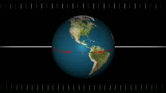 Earth Precession 1281 Stock Footage