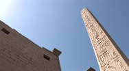Stock Video Footage of Luxor Temple in Egypt