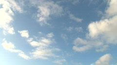 Stock Video Footage of Real Time Cloudscape