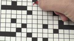 Crosswords Medical - HD  Stock Footage