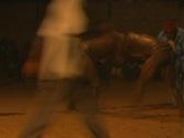 Stock Video Footage of Senegal Wrestling 6