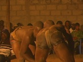Stock Video Footage of Senegal Wrestling 3