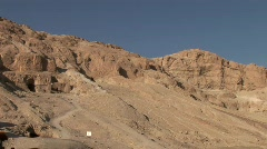 Valley Of The Kings, Egypt Stock Footage