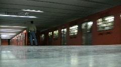 Metro drop off Mexico City Stock Footage