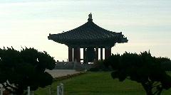 Korean Frendship Bell - San Pedro, CA Stock Footage