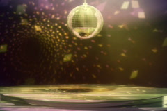 Disco Dance Floor Loop NTSC Stock Footage