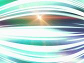 Glowing abstract streaks loop Stock Footage