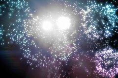Stock Video Footage of Fireworks loop