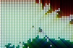 Glowing abstract streaks loop - stock footage