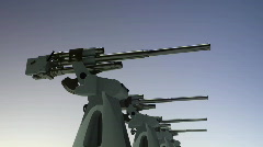Flak Cannons ww2 best Stock Footage