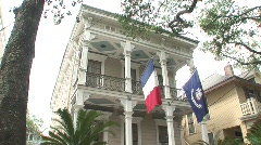 Degas Mussan home, New Orleans Stock Footage