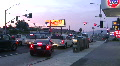 Los Angeles City Traffic - Timelapse HD Footage