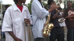New Orleans jazz Stock Footage