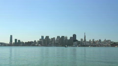 San Francisco and the Bay (timelapse) Stock Footage