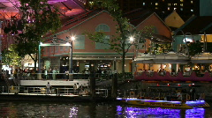 Clarke Quay Stock Footage