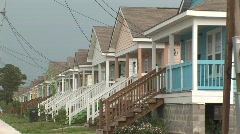 Restoration after Katrina - stock footage