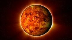 Red Planet Loop Stock Footage