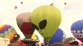 Hot Air Balloon Mass Ascension With Alien Balloon Footage
