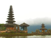Stock Video Footage of Pura Ulun Danu Bratan Temple, Bali