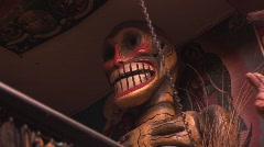 Voodoo things Stock Footage