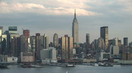 Stock Video Footage of Time Lapse of New York Skyline