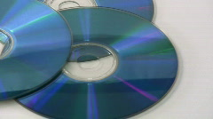 Cds Stock Footage