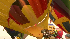 Hot Air Balloon Mass Ascension Stock Footage