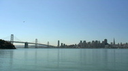 San Francisco and the Bay Bridge (timelapse) Stock Footage