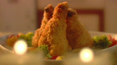 Roast chicken. Sequence - stock footage