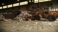 Trash Wide Stock Footage