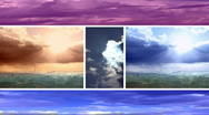 Stock Video Footage of Sky and clouds Timelapse