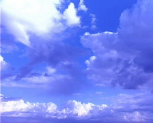 Blue Sky and Clouds Timelapse Stock Footage