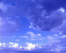 Blue Clouds and Sky Timelapse Stock Footage