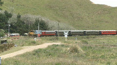 Old rail carriages Stock Footage