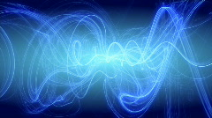 Blue waves motion background d2667 Stock Footage
