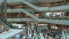 Shanghai Mall 3 - stock footage