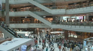 Shanghai Mall 3 Stock Footage