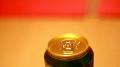 Beer can opening  1080p Stock Footage