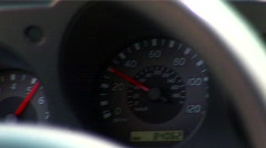 Car Speedometer - stock footage