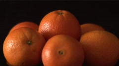 Rotating Oranges - stock footage